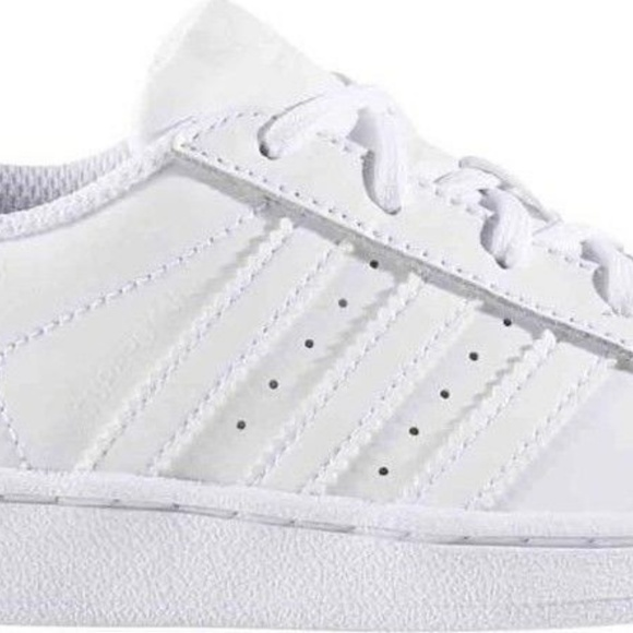 adidas Other - Adidas Superstar Foundation C Shoes Girl's Size 13